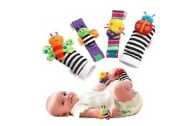 Baby Toys Wrist Rattles and Foot Finders Multicolor $9.99
