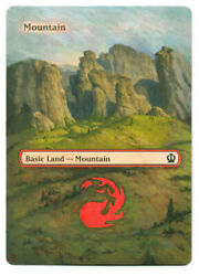 Mountain - MTG Magic Altered Hand Painted - Extended Art by Jon