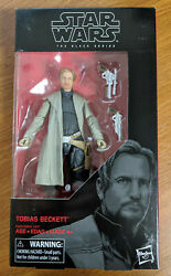 Tobias Beckett Star Wars The Black Series Action Figure - New In Package