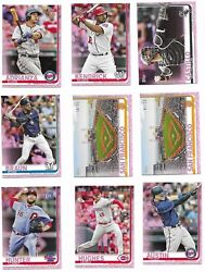2019 Topps Mini Online Exclusive Pink Parallel #25 Pick Your Card #600-US300