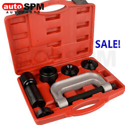 Heavy Duty 4 in 1 Ball Joint Press amp; U Joint Removal Tool Kit with 4x4 Adapters $38.91