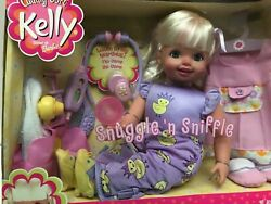 Cuddly Soft Kelly Snuggle #x27;n Sniffle 16quot; Soft...New In The Box Barbies Lil Sis $156.99
