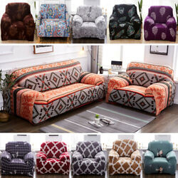 1 2 3 4 Seater Chair Sofa Cover Stretch Slipcover Couch Pet Furniture Protector $44.49