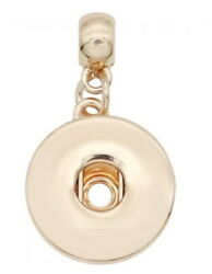 Gold European 18mm 20mm Snap Charm Button Pendant For Ginger Snaps $10.95
