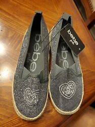 Bebe girls Canvas Shoes size 4 $19.88
