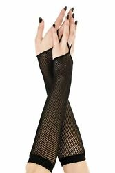Women Sexy Lingerie Gloves Finger Loop Fishnet Arm Warmer Wedding Bridal Cosplay $8.68