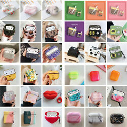 New Hot Various Cute Earphone Protector For Apple Airpods Pro 1st 2nd Case Cover $4.99