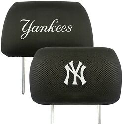 New York Yankees 2-Pack Auto Car Truck Embroidered Headrest Covers $18.99