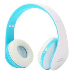 Wireless Foldable Stereo Headset Headphone Manual Cable Over Ear For iPhone $10.99