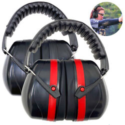 Ear Muffs Foldable 34dB Hearing Protection Hearing Protection Gun Shooting Range $11.65