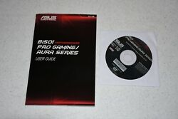 Genuine ASUS Z150I Pro Gaming AURA MOTHERBOARD DRIVERS AND Manual $16.99