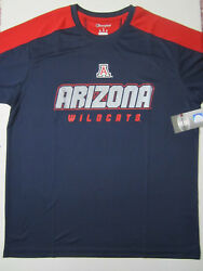 NCAA Arizona Wildcats Champion Impact Color Blocked T Shirt Large NWT New $12.49