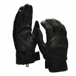 Original Austrian Army combat tactical gloves Leather Nomex military gloves $20.58