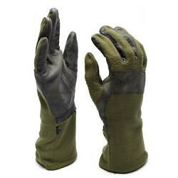 Original German army combat gloves. German military gloves leather aramid $20.40