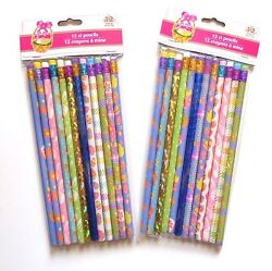New 24 Total Easter Novelty Pencils $8.99