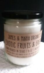 Exotic Fruits & Greens 16 oz. Candles Hand-Poured in Texas Lone Star Made in USA $16.50