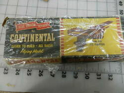 Continental Flying Model quot;migquot; Blue Ribbon Flyers Very rare balsa kit $11.00