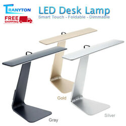LED Desk Lamps USB Rechargeable Ultra thin Mac Style Reading Study Table Lamp $28.34