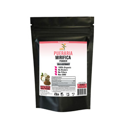 PUERARIA MIRIFICA 10:1 EXTRACT POWDER DIETARY SUPPLEMENT ORGANIC FOR WOMEN 227G $25.64