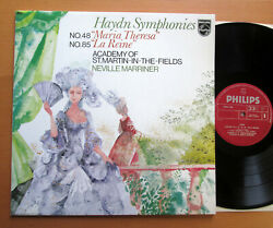Philips 9500 200 Haydn Symphony 48 Maria Theresa 85 La Reine Neville Marriner NM GBP 9.99