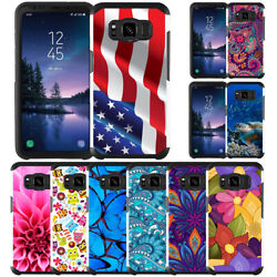 For Samsung Galaxy S8 S8 Plus S8 Active Slim Hybrid Armor Case Dual Layer Cover $9.99
