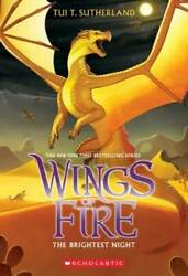 Wings of Fire Book Five: The Brightest Night Paperback VERY GOOD $3.84