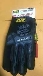 Mechanix Wear M Pact Impact Resistant Gloves Large great for Motorcycle riding $18.99