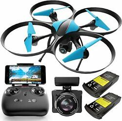 Drones with Camera for Kids or Adults – U49WF FPV HD Drones with Camera for RC $74.33