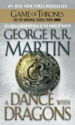 A Dance with Dragons A Song of Ice and Fire Mass Market Paperback GOOD $4.06