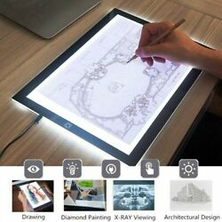 A3 A4 A5 LED Light Pad Slim Copyboard Tracing Drawing Board Graphic Tablet US $10.89