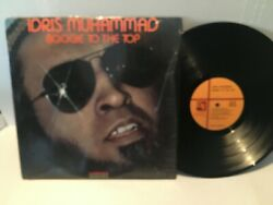 Idris Muhammad LP  ‎– Boogie To The Top - NM IN SHRINK