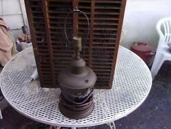 ANTIQUE NORDIC SEA BUOY DOUBLE LAMP WORKING ORDER $160.00