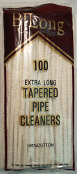 BJLong 100 Extra Long Tapered Pipe Cleaners $7.95