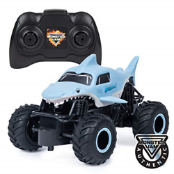 Monster Jam 6047110 Official Megalodon Remote Control Monster Truck 1:24 Scale $22.46