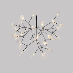 Nordic Style Acrylic Home Decorative LED Chandeliers Adjustable Pendant Fixtures $229.00