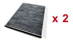 Cabin Air Filter Carbon for Volvo Trucks Replaces AF26405 20435801 Pack of 2 $22.94