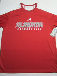 NCAA Alabama Crimson Tide Champion Impact Color Blocked T Shirt Large NWT New $12.99
