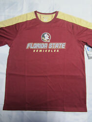 NCAA FSU Florida State Seminoles Champion Impact T Shirt Medium or Large $12.99