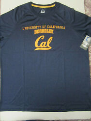 NCAA California Golden Bears Champion Impact T Shirt Grey X Large New NWT $10.99