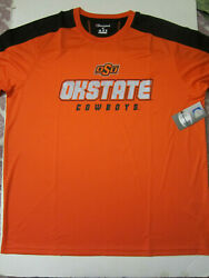 NCAA Oklahoma State Cowboys Champion Impact Color Blocked T Shirt X Large NWT $12.99