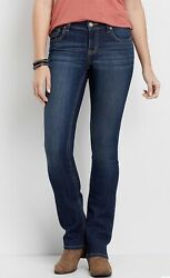 Ladies' Maurices Demin Flex Slim Boot Jeans— Mid Rise: Choose 6 10 14 or 16 $19.99