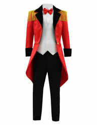 Kids Halloween Party Costume circus tamer animal trainer Boy Cosplay for Show S $65.20