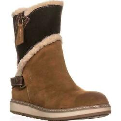 White Mountain Women#x27;s Teague Cold Weather Boot Size 7M Whiskey Suede $39.99