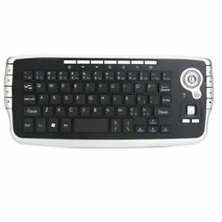 Wireless Keyboard with Trackball Handheld Touchpad Gaming for TV Box Android $26.24