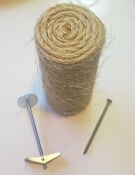One Floating Sisal Cat Step Floating Step Cat Wall Cat Step Cat Scratch New $21.00
