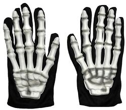 SKELETON GLOVES CHILD COSTUME ACCESSORY $8.95