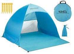 Pop Up Beach Tent Portable Sun Shade Shelter Outdoor Camping Fishing Canopy Blue $19.99