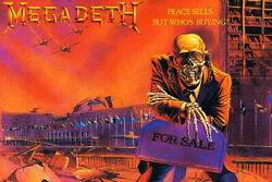 Megadeth Peace Sells... but Who#x27;s Buying? Art Wall Room Poster POSTER 24x36 $18.99