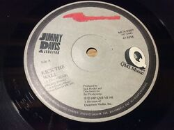 Jimmy Davis Kick The Wall Over The Top Canada 45 C $1.00