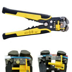 Automatic Cable Wire Stripper Cutter Crimper Multifunctional Plier Electric Tool $15.90